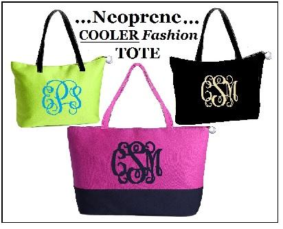 Neoprene Cooler Fashion Tote