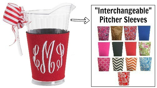 Interchangeable Pitcher Sleeves
