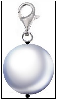 Pearl Zipper Pull (22mm)