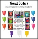 Sand Spike CASE Asst (60 pc)