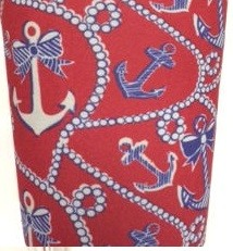 Pitcher SLEEVE Anchor pearls red