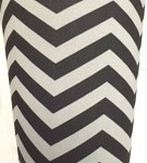 Pitcher SLEEVE Chevron Black