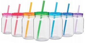 Mason Jar cs/pk 1 Color (49) / (2 cases)