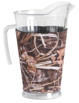 Acrylic Pitcher with SLEEVE Camo Max