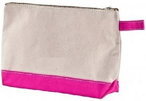 Cosmetic Bag Canvas - Cameron - Hot Pink