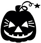 Vinyl Decal Happy Pumpkin
