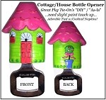 Bottle Opener -Resin House Cottage
