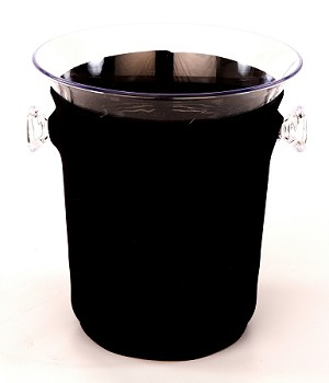 Ice Bucket Cover Black
