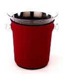 Ice Bucket Cover Maroon