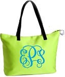 Neoprene COOLER Fashion Tote LG Lime-Avery