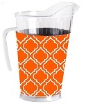 Acrylic Pitcher with SLEEVE Morocaan Orange