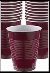 Party Cups Maroon (Set of 10)
