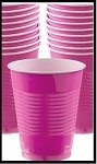 Party Cups Hot Pink (Set of 10)