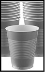 Party Cups Silver (Set of 10)