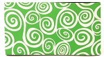 Sleeve Swirl Lime/Wh Neoprene