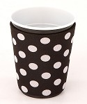 Solo Cup Koozie Dot Blk/Wh