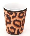 Solo Cup Koozie Leopard