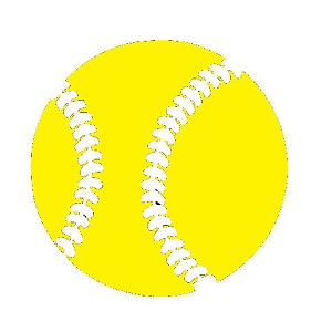 Vinyl Decal Tennis Ball Yellow