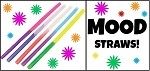 MOOD Straws Asst'd Opaque (5 Colors/2 ea)