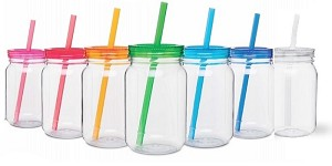 Mason Jars Acrylic =2ea-7color (14) asst